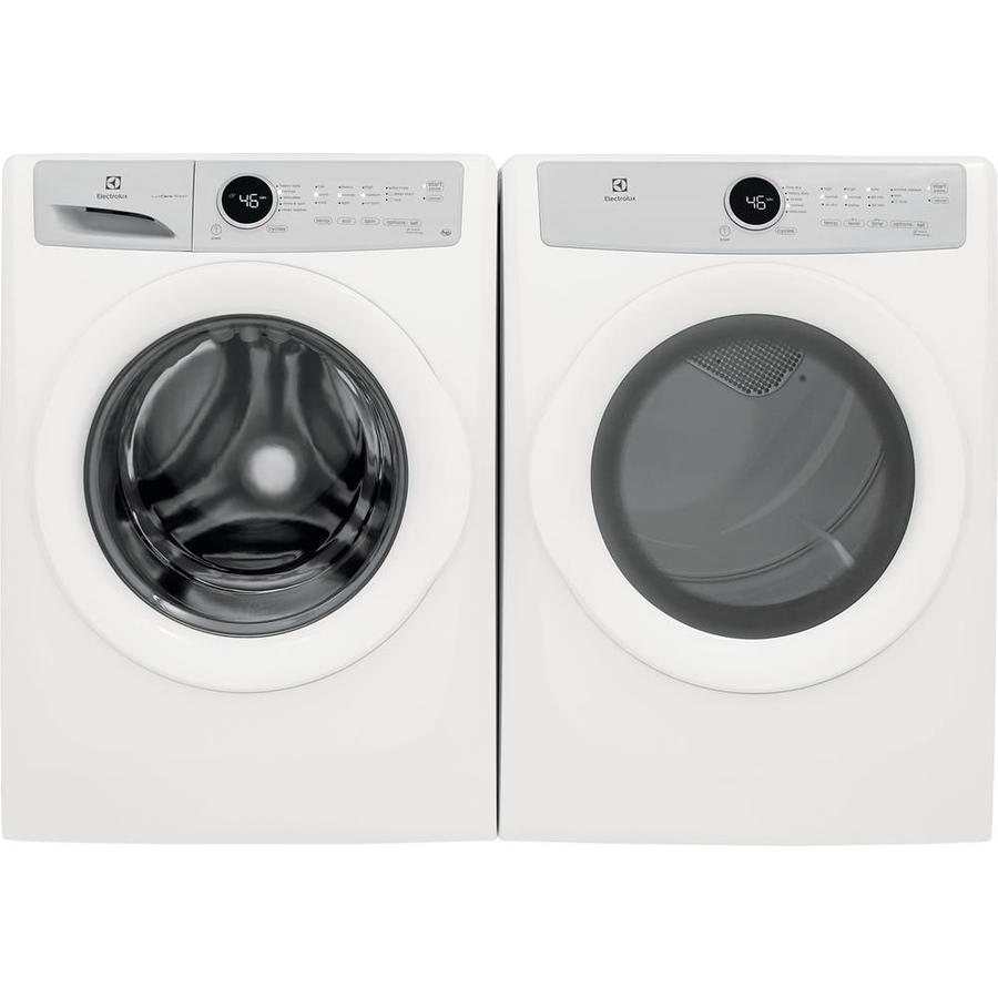 Shop Electrolux Luxcare Front Load Washer Electric Dryer Set At Lowes Com