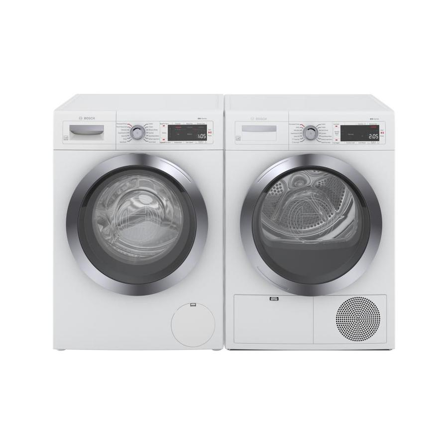 Shop Bosch 800 Series Compact Front Load Washer Electric Dryer Set At Lowes Com