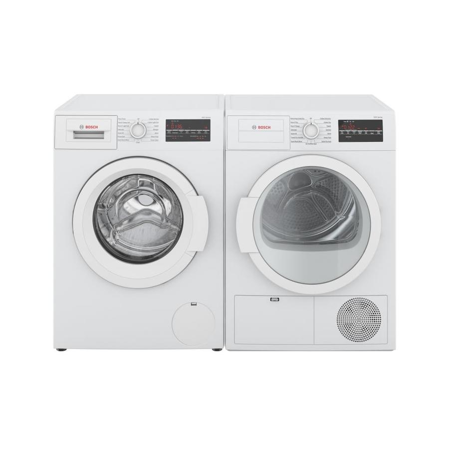 Shop Bosch 300 Series Compact Front Load Washer Electric Dryer Set At Lowes Com