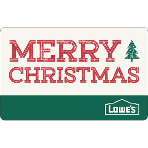 Shop Merry Christmas Gift Card at Lowes.com