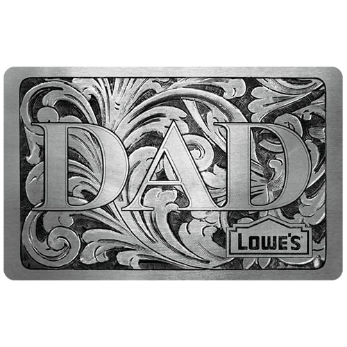 Dad Silver Gift Card
