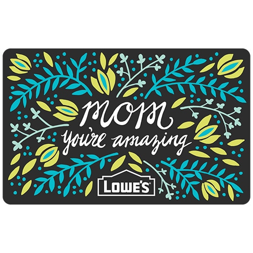 Mom Amazing Gift Card