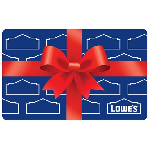 Present Gift Card At Lowes