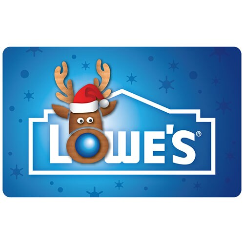 Snow Reindeer Gift Card