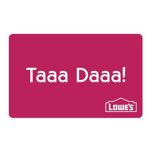Taaa Daaa Gift Card