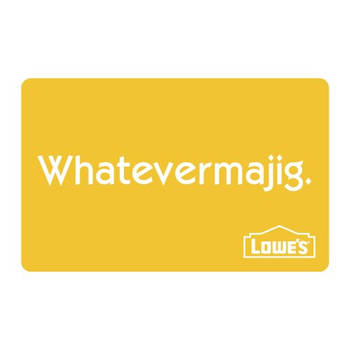 Whatevermajig Gift Card