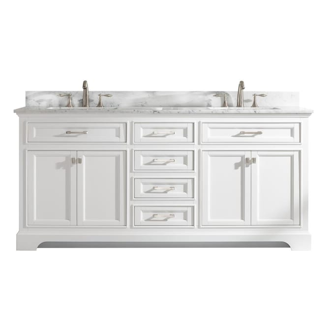 Double Sink Bathroom Vanity, White Double Sink Bathroom Vanity