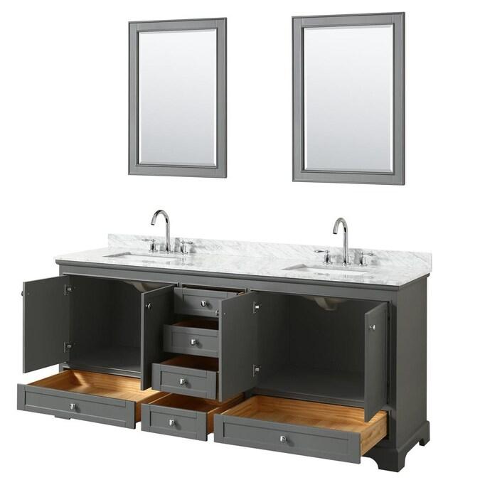 Double Sink Bathroom Vanity, 70 Bathroom Vanity