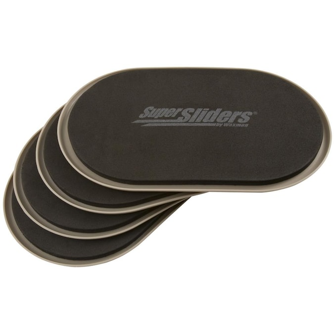 Oval Reusable Plastic Carpet Slider, Sliders For Furniture