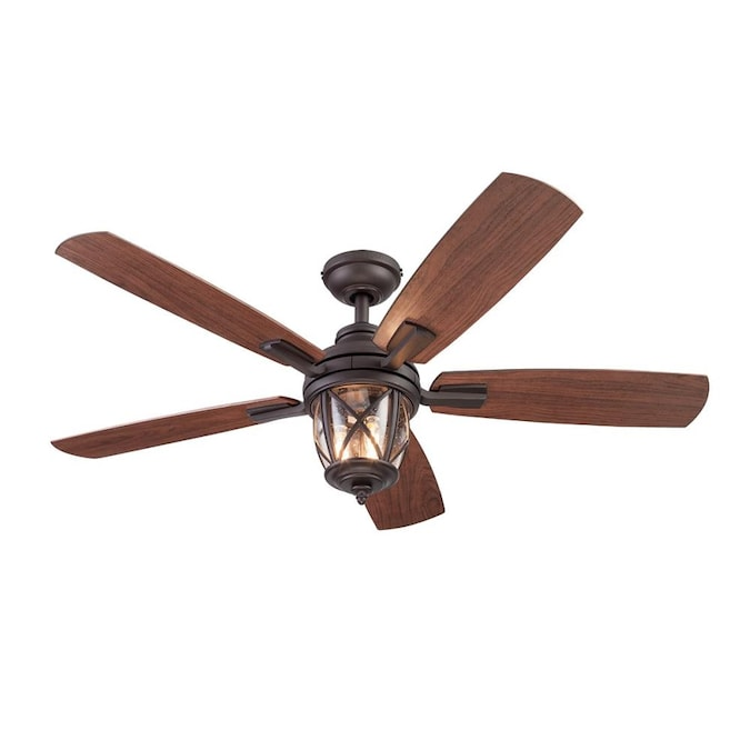 Roth Castine 52 In Rubbed Bronze Indoor, Ceiling Fans Outdoor With Remote