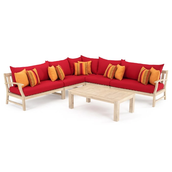 Piece Wood Frame Patio Conversation Set, Pruitt's Furniture Reviews