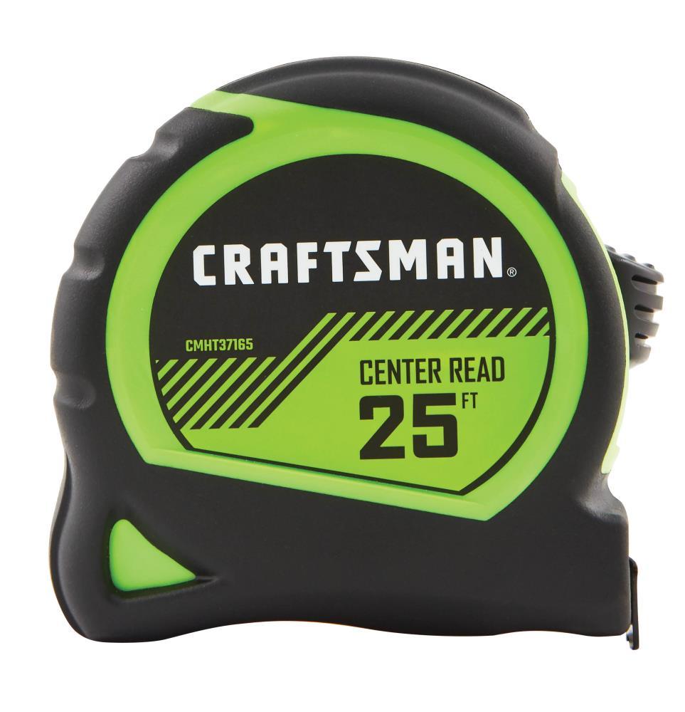 CRAFTSMAN HI-VIS 25-ft Tape Measure Rubber | CMHT37165S