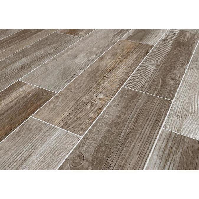 Glazed Porcelain Wood Look Floor Tile, Porcelain Tile Flooring Pictures