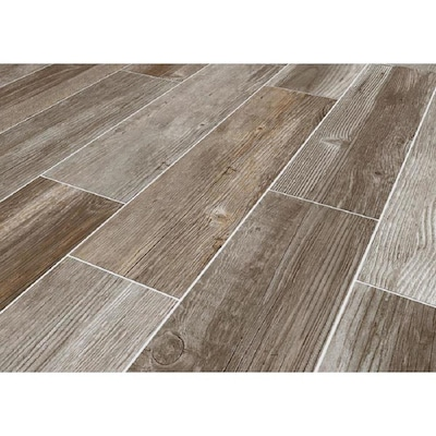 Glazed Porcelain Wood Look Floor Tile