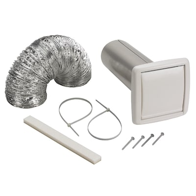 Wall Vent Kit Bathroom Fan Parts At, Bathroom Fan Vent Cover Outside