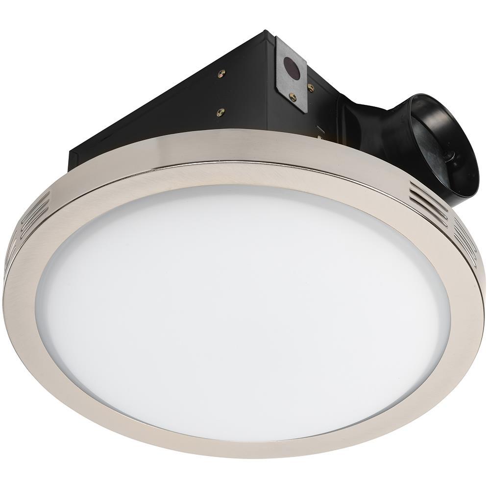 Utilitech Ventilation Fan 2 Sone 90 Cfm, Decorative Bathroom Exhaust Fans With Light