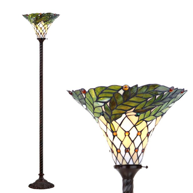 Bronze Torchiere Floor Lamp, Torchiere Table Lamps