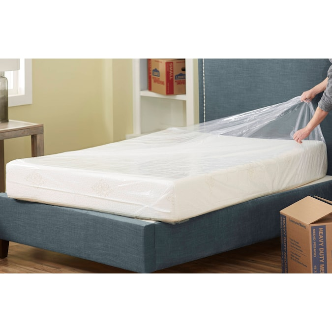Blue Hawk 14 In D Plastic Queen King, Bed Mattress Storage Covers