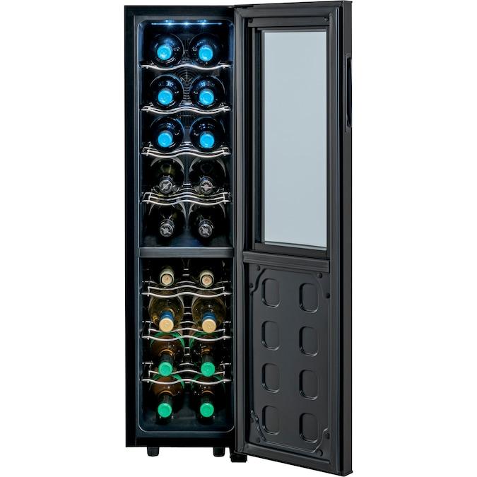 Houssem Wine Cooler 18 Bottles 58L Freestanding and Bult in ...