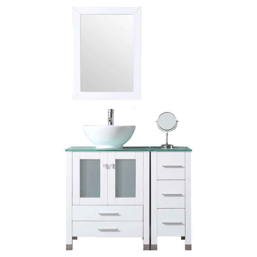 Single Sink Bathroom Vanity, Bathroom Vanity Set