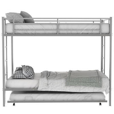 Twin Over Queen Bunk Beds At Lowes Com
