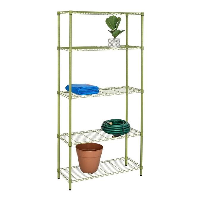 Tier Adjustable Storage Shelving Unit, Adjustable Storage Shelves