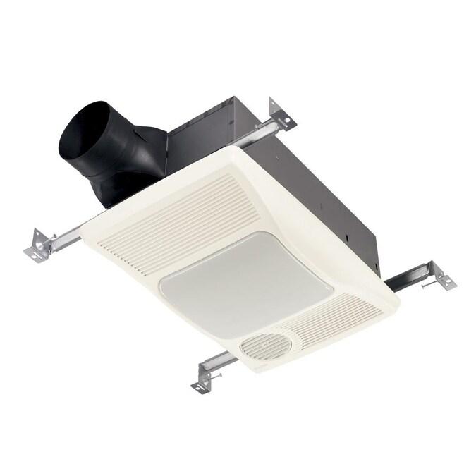 Broan Heater Fan Light 2 Sone 100 Cfm, Bathroom Vent Heater