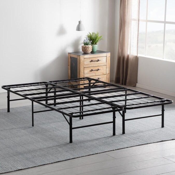Brookside Black Twin Extra Long, How Long Is A Extra Twin Bed Frame