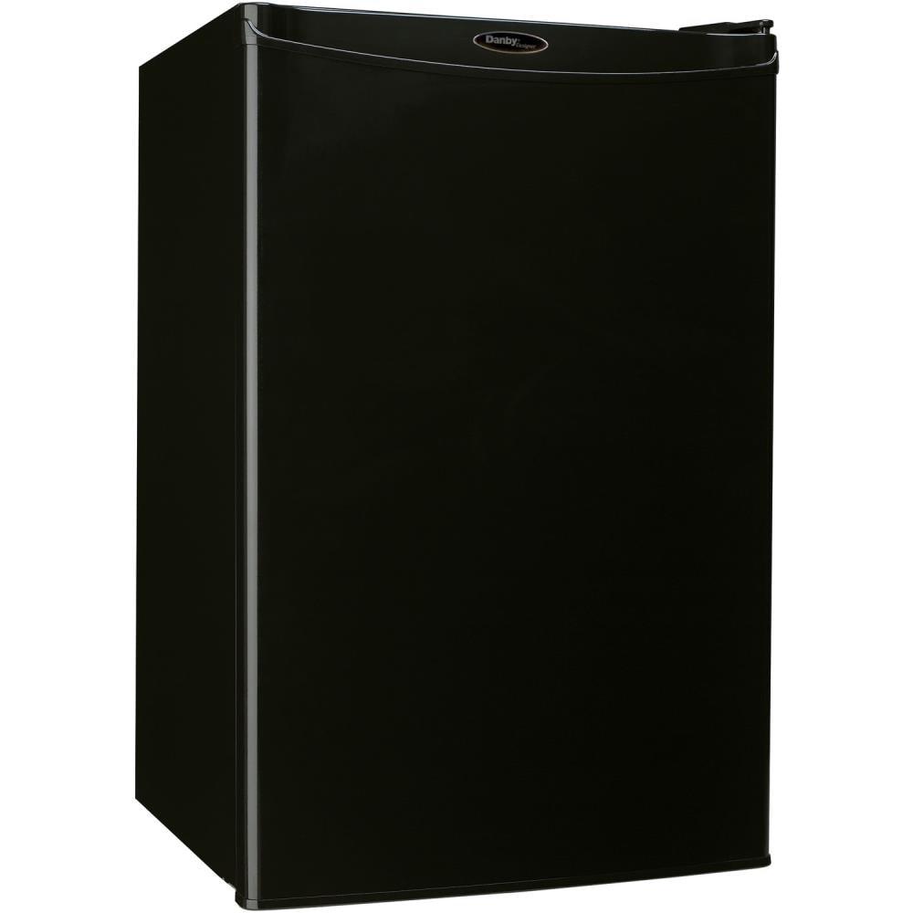 Danby Designer ENERGY STAR 4.4-cu ft Freestanding Mini Fridge (Black) | DAR044A4BDD