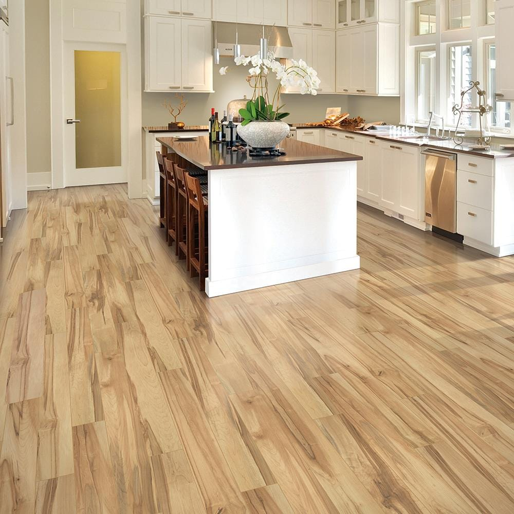 QuickStep Studio Concord Maple 9 mm Thick Water Resistant Wood Plank  Laminate Flooring Sample