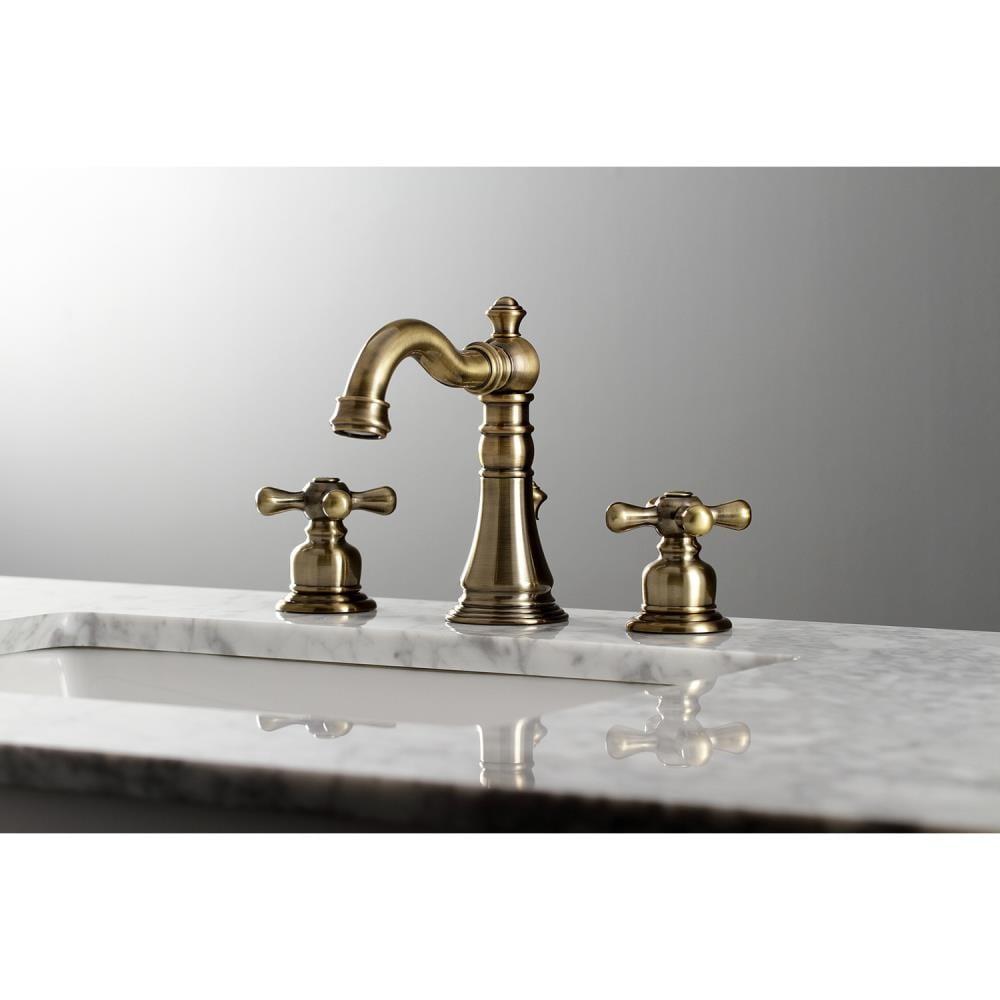 Kingston Brass American Classic Antique, Antique Brass Bathroom Fixtures