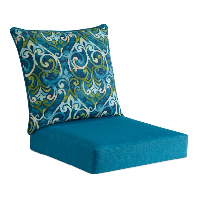 Style Selections 2 Piece Salito Marine, Deep Seating Patio Cushions Clearance