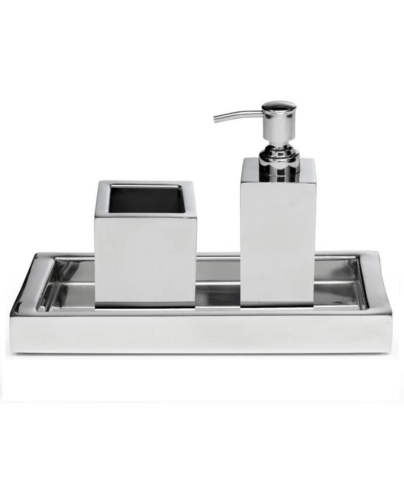 Roi Trading Company Modern Shiny, Contemporary Bathroom Accessories Sets
