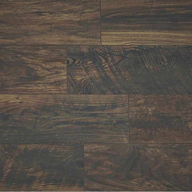 Style Selections Reclaimed Wood Medley, Reclaimed Barnwood 8mm Laminate Flooring