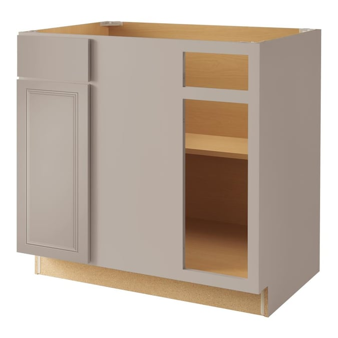 Blind Corner Base Fully Assembled Stock, 36 Inch Cabinet
