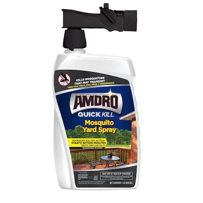 Amdro Quick Kill Mosquito Yard Spray 32, Killing Mosquitoes Outdoors