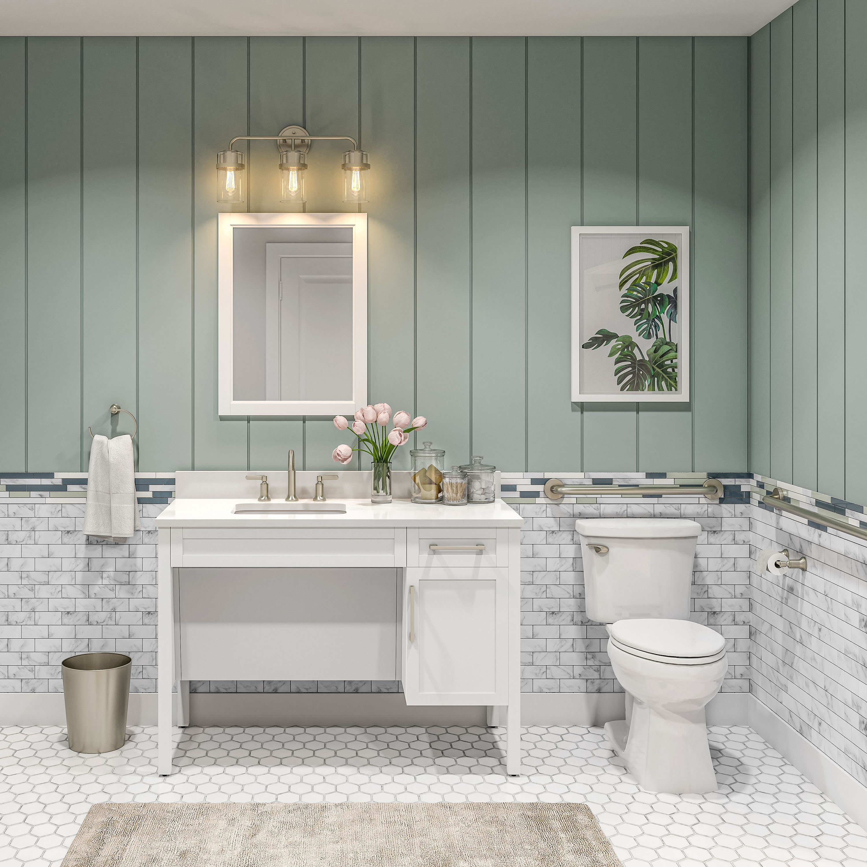 Ada Compliant Bathroom Vanities With, Accessible Bathroom Vanity