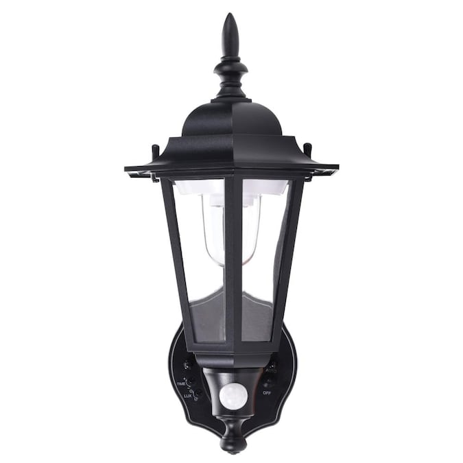 Maxsa Innovations 15 In H Black Battery, Battery Powered Outdoor Lights