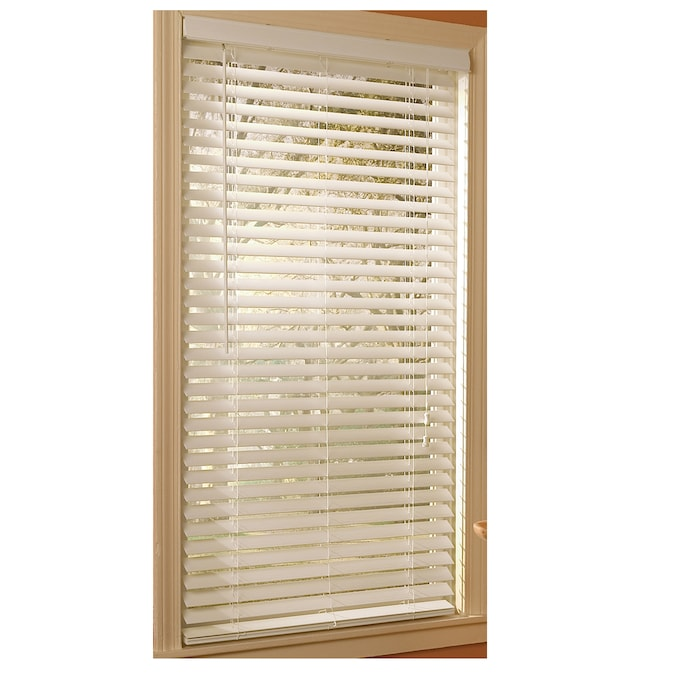 Corded White Etched Woodgrain Faux Wood