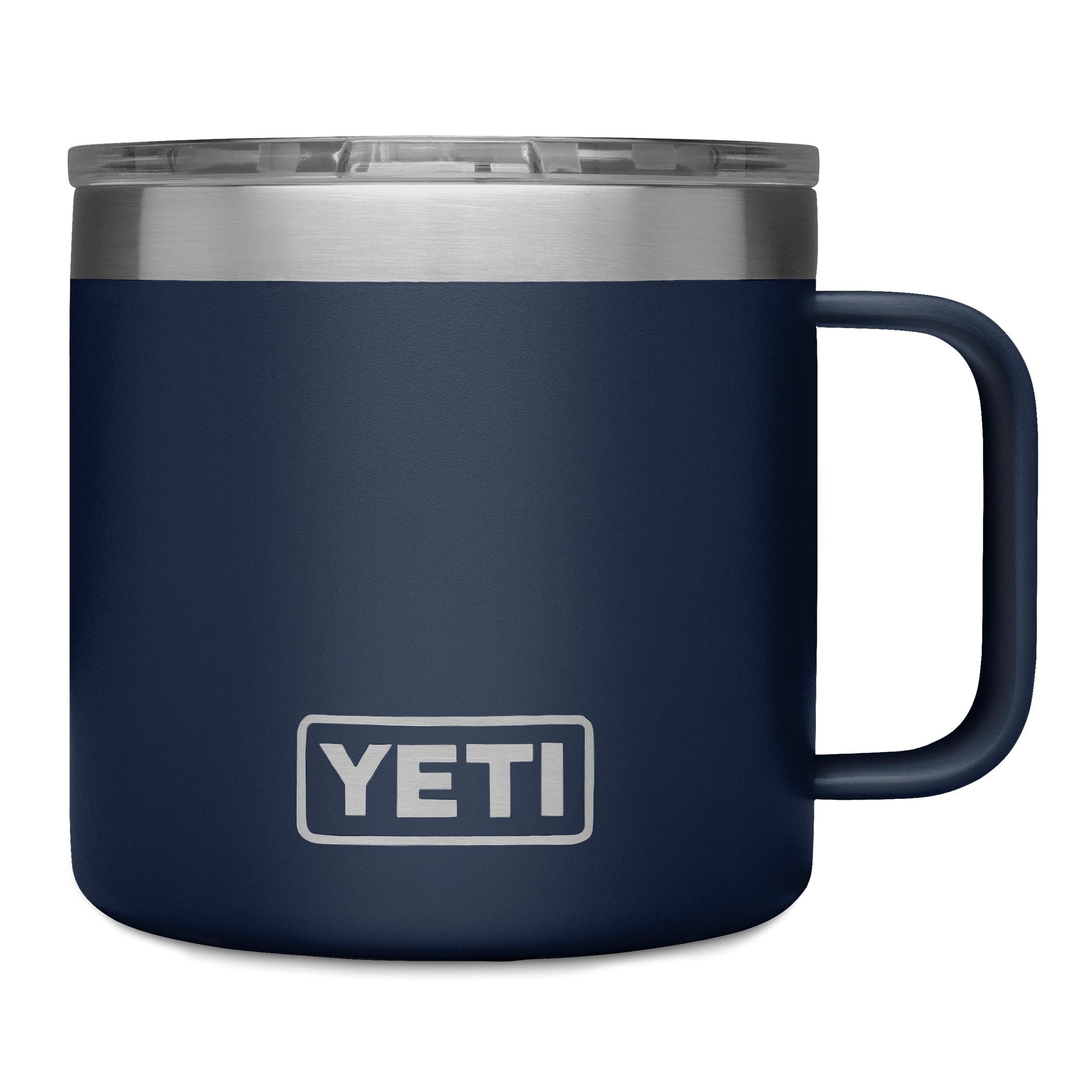 YETI Rambler 14-fl oz Stainless Steel Travel Mug   21071300146