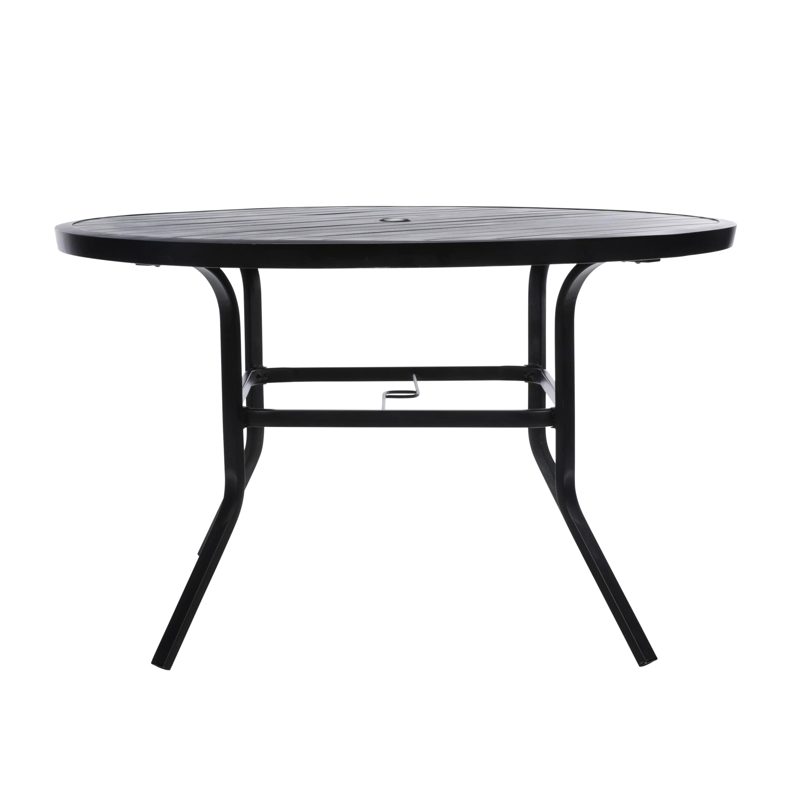 Style Selections Pelham bay Round Outdoor Dining Table 9 in W x ...