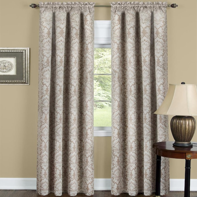 Single Curtain Panel In The Curtains, Tan And Brown Curtains