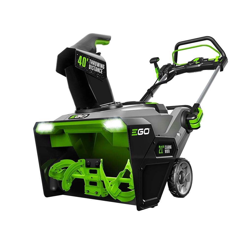 EGO POWER+ 56-Volt 21-in Single-Stage Cordless Electric Snow Blower (2-Batteries Included) | SNT2114