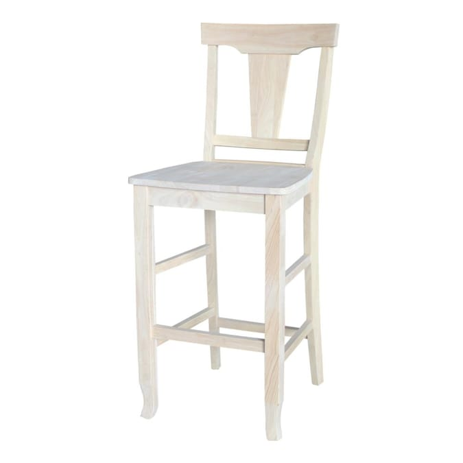 Bar Stools Department At, Unfinished Furniture Stools