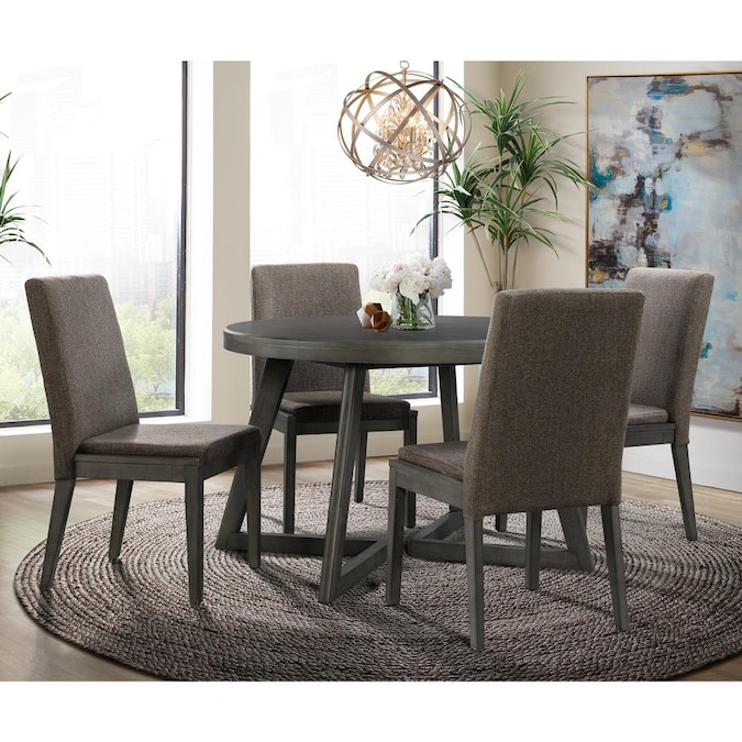 Four Chairs In The Dining Room Sets, Round Dining Table Sets
