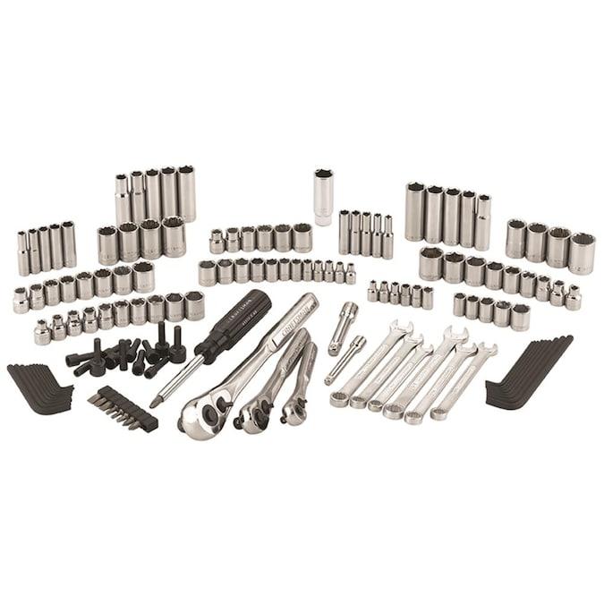 3//8 Craftsman Mechanics Tool Set 137 pc 1//4 1//2 Drives NEW IN BOX 33137