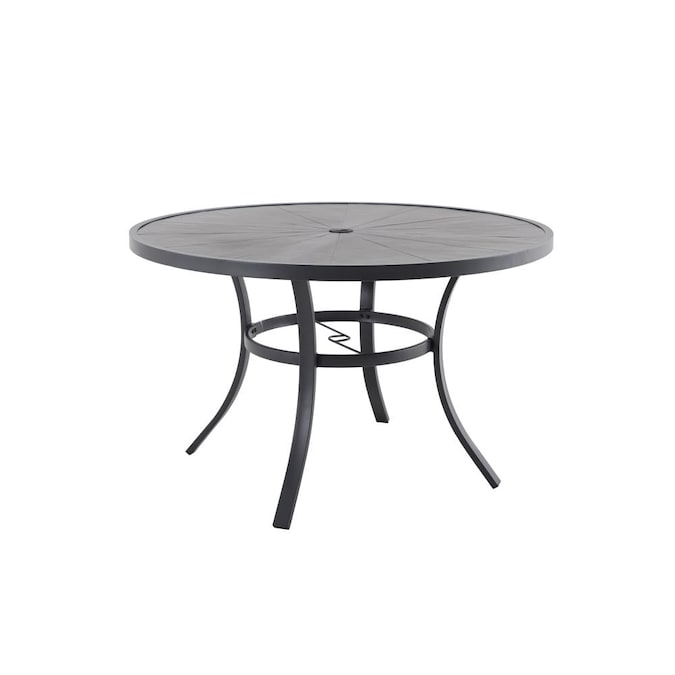 Allen Roth Aspen Grove Round Outdoor, Round Outdoor Dining Tables
