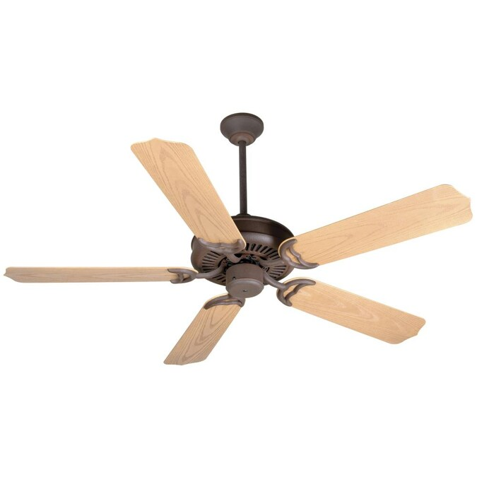 Rustic Iron Indoor Outdoor Ceiling Fan, Rustic Outdoor Ceiling Fans Without Lights
