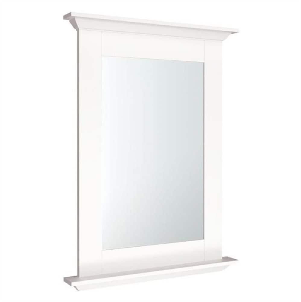 White Bathroom Mirrors At Lowes Com