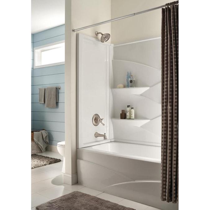 Delta Laurel 55 125 In W X 59 875 H, Bathroom Tub Surrounds